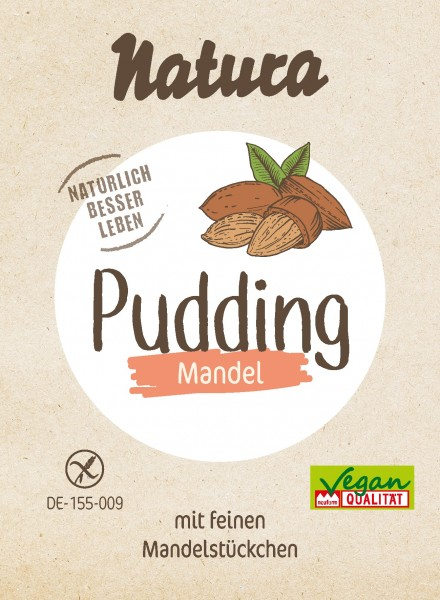 Pudding Mandel 3er-Pack